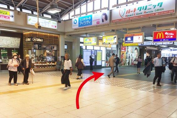 JR町田駅から2