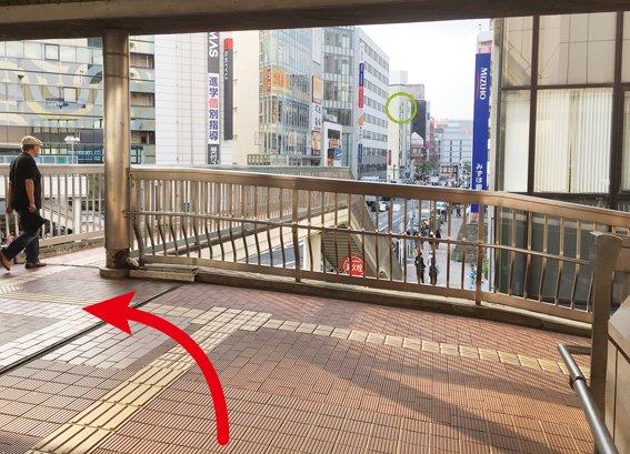小田急町田駅から6